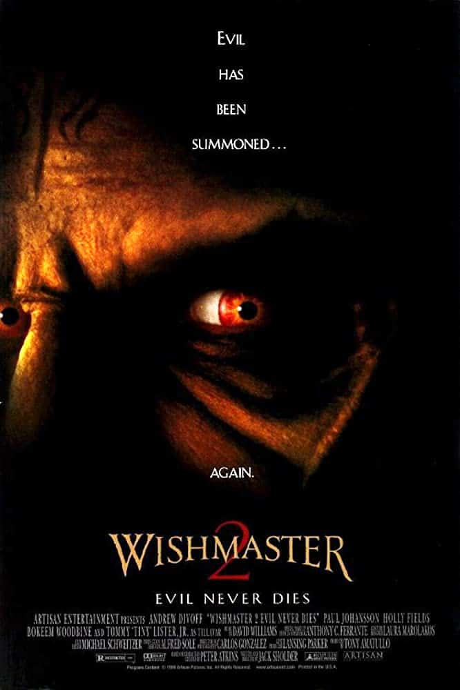 Wishmaster 2: Evil Never Dies (1999) พรซาตาน กระชากวิญญาณ