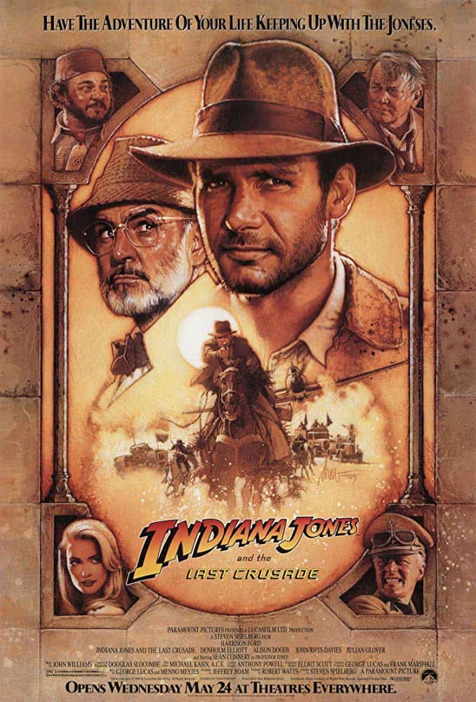 Indiana Jones and the Last Crusade 3 (1989) ขุมทรัพย์สุดขอบฟ้า 3 ตอน ศึกอภินิหารครูเสด