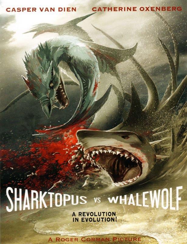 Shacktopus vs Whalewolf (2015) ชาร์กโทปุส ปะทะ เวลวูล์ฟ สงครามอสูรใต้ทะเล